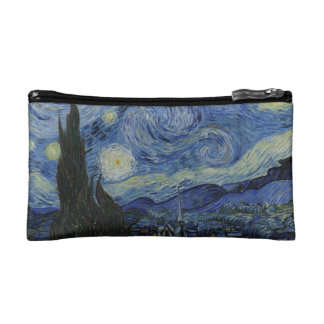 The Starry Night Small Cosmetic Bag