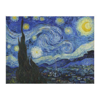 The Starry Night - Van Gogh (1888) Canvas Print