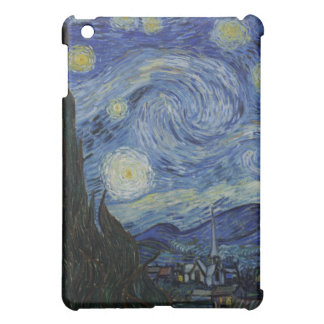 The Starry Night - Van Gogh (1888) Cover For The iPad Mini