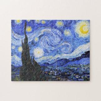 The Starry Night Van Gogh Jigsaw Puzzle