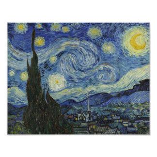 The Starry Night Vincent van Gogh 1889 Photo Art