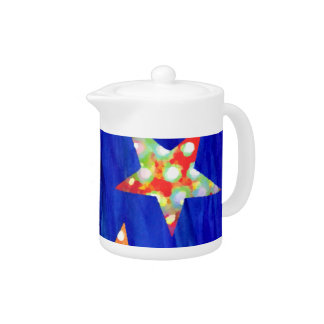 The Stars In The Bright Sky Teapot