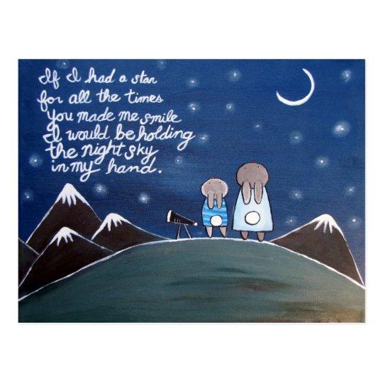The Stars Postcard