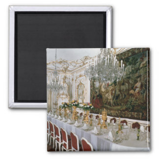 The State Banqueting Hall designed by Nikolaus Square Magnet