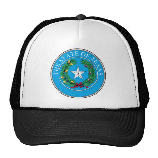 The State Seal of Texas Trucker Hats