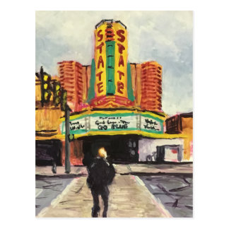 The State Theatre Ann Arbor Postcard