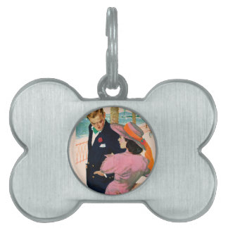 The Stategy of Love Pet Tag