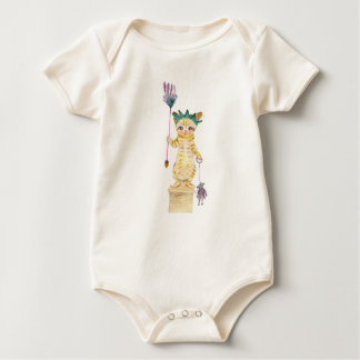 The Statue of CAT Liberty : Cat Kingdom Baby Bodysuit