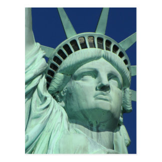 The Statue Of Liberty At New York City Postcards