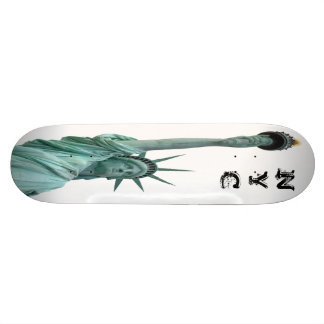 The Statue of Liberty, New York City Custom Skateboard
