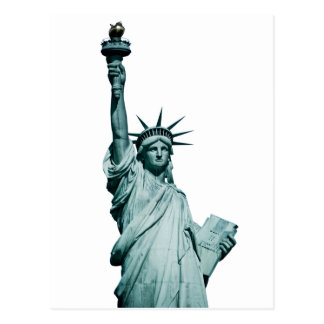 The Statue of Liberty Postcard