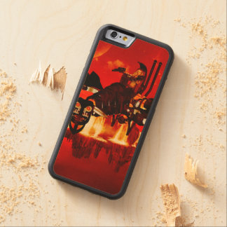 The steam dragon in the sunset maple iPhone 6 bumper case