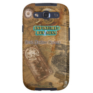 The Steampunk Ghost Hunting World of Prof. Byrnes Samsung Galaxy S3 Covers