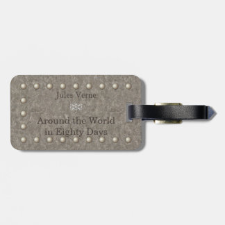 The steampunk writer Notebook  Jules Verne was one Luggage Tag