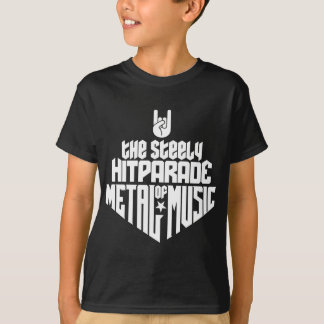 The steely Hitparade of Metal Music 1c (white) T Shirt