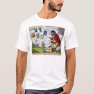 The Stepping Stone,John Bull peeping into T-Shirt