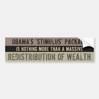 The Stimulus Package Scam Bumper Sticker
