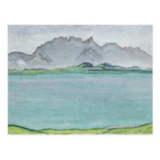 The Stockhorn Mountains and Lake Thun, 1911 Postcard