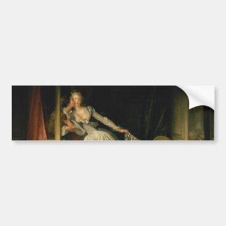 The Stolen Kiss by Jean-Honore Fragonard Bumper Stickers