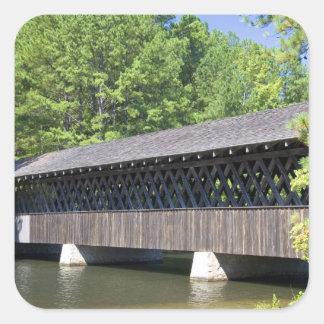 The Stone Mountain Covered Bridge at Stone Square Sticker