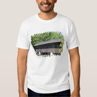 The Stone Mountain Covered Bridge at Stone T Shirts