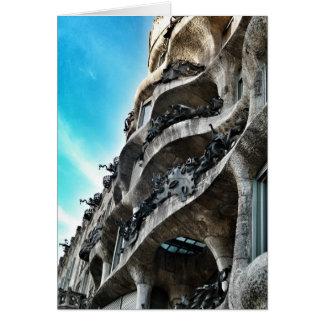 The Stone quarry of Antoni Gaudí Card