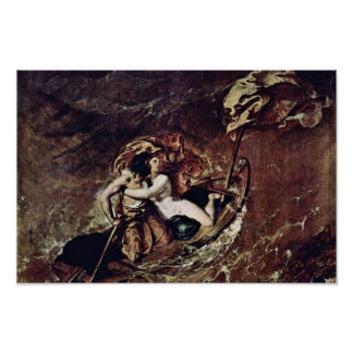 The Storm By Etty William (Best Quality) Print