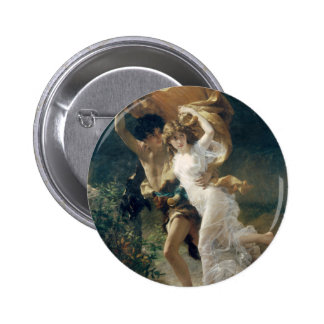 The Storm by Pierre Auguste Cot 6 Cm Round Badge