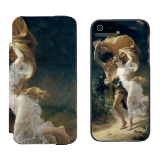 The Storm by Pierre Auguste Cot Incipio Watson™ iPhone 5 Wallet Case
