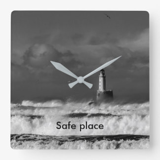The storm in the North Sea Wallclocks