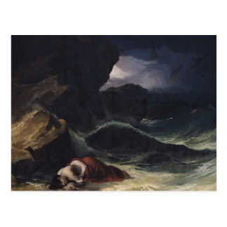 The Storm, or The Shipwreck Postcard