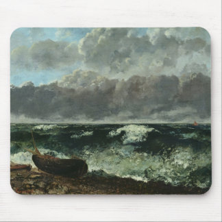 The Stormy Sea or, The Wave, 1870 Mouse Pad