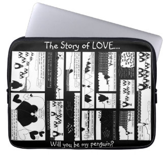 The Story of Love Laptop Computer Sleeves