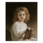 The Storybook - William Bouguereau