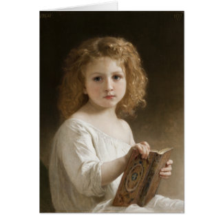 The Storybook - William Bouguereau Card