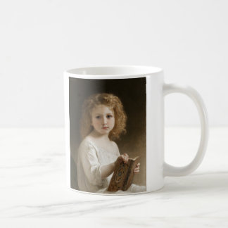 The Storybook - William Bouguereau Coffee Mug