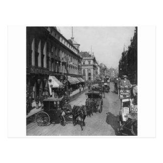 The Strand, 1901 London England, U.K. Postcard