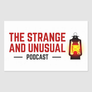 The Strange and Unusual Podcast Stickers
