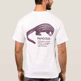 The Strange Pangolin, with definition, T-Shirt
