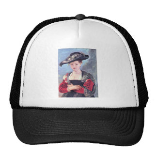 The straw hat by Paul Rubens