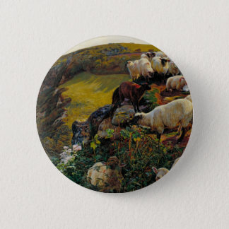 The Strayed Sheep 6 Cm Round Badge