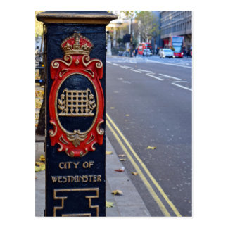 The Streets of Westminster  -  London Postcard