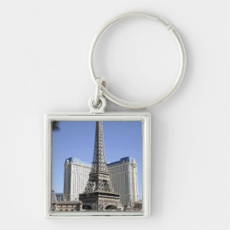 The Strip, Paris Las Vegas, Luxury Hotel Key Ring