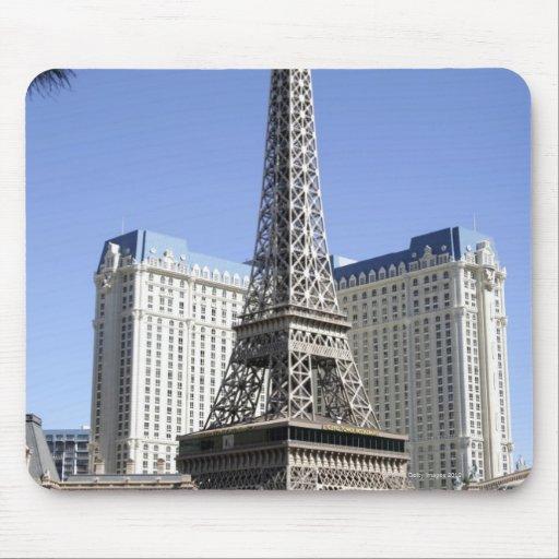 The Strip, Paris Las Vegas, Luxury Hotel Mouse Pad