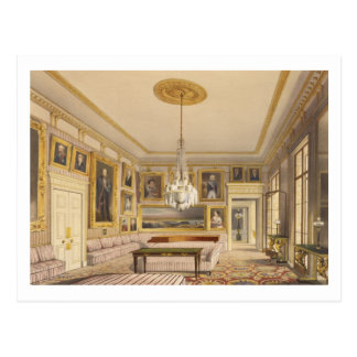 The Striped Drawing Room, Apsley House, 1853 (prin Postcard