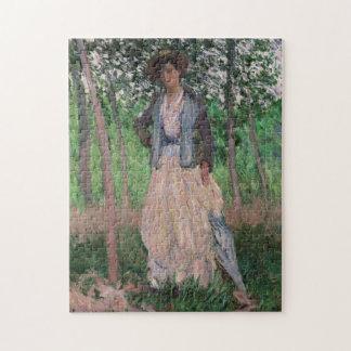 The Stroller - Claude Monet Puzzle