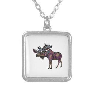 THE STRONG BULL SILVER PLATED NECKLACE
