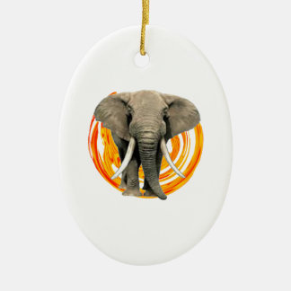 THE STRONGEST ONE CERAMIC ORNAMENT