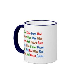 The Stroop Test Mugs