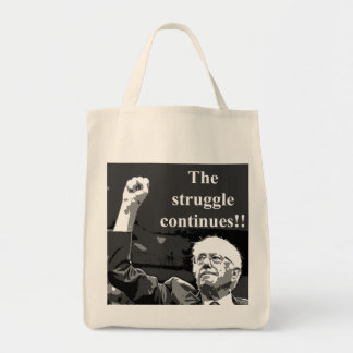 The struggle continues tote bag